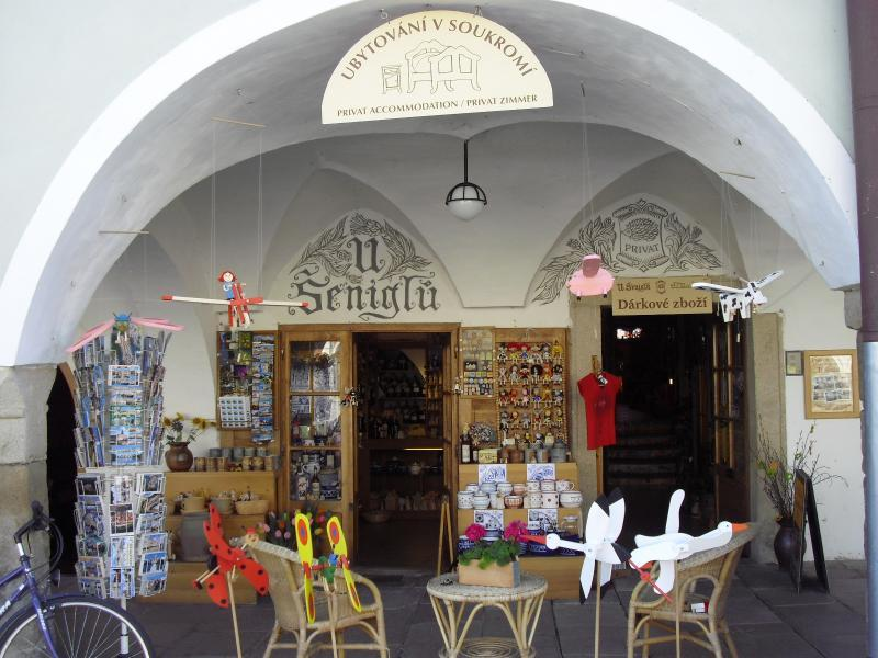 Ubytování U Šeniglů, Telč
